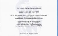Freiwilliges Fortbildungszertifikat der Bayerischen Landesärztekammer