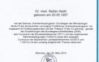 Wieder ein neues Zertifikat: Krankenhaushygiene