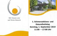 1. Schmerzaktions- und Gesundheitstag in der Fachklinik Osterhofen